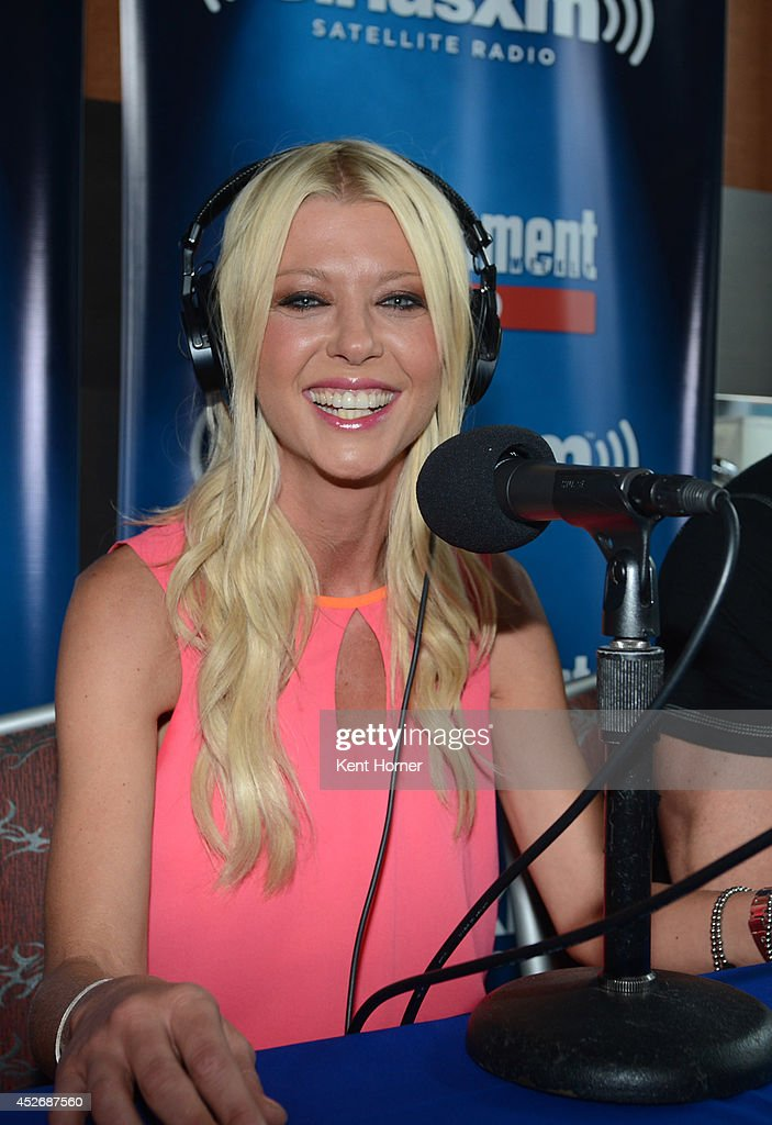 <a gi-track='captionPersonalityLinkClicked' href=/galleries/search?phrase=Tara+Reid&family=editorial&specificpeople=202160 ng-click='$event.stopPropagation()'>Tara Reid</a> is interviewed on SiriusXM's Entertainment Weekly Radio channel from Comic-Con 2014 at The Hard Rock Hotel on July 25, 2014 in San Diego, California.