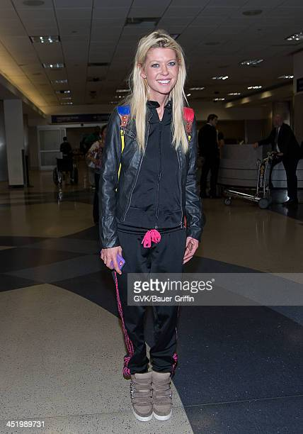 Tara Reid is seen arriving at LAX airport on November 25 2013 in Los Angeles California