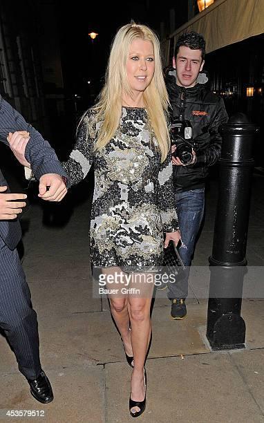 Tara Reid is seen leaving a nightclub on November 29 2012 in London United Kingdom
