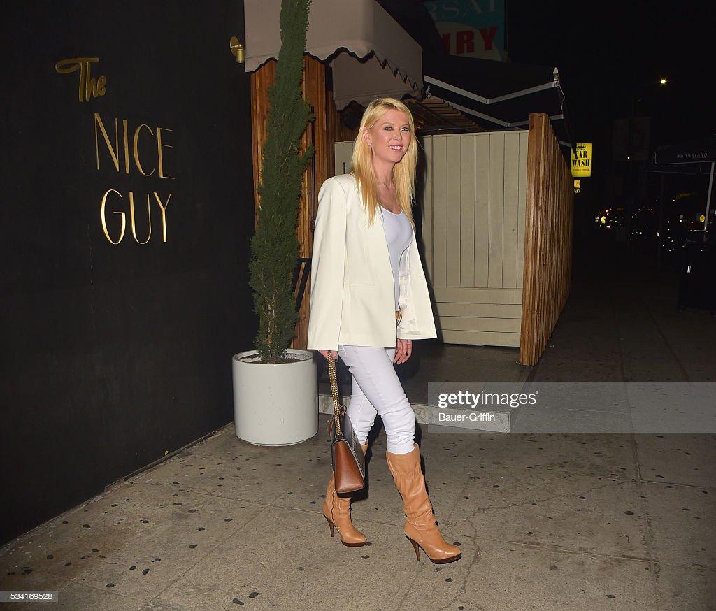 Tara Reid is seen on May 25, 2016 in Los Angeles, California.