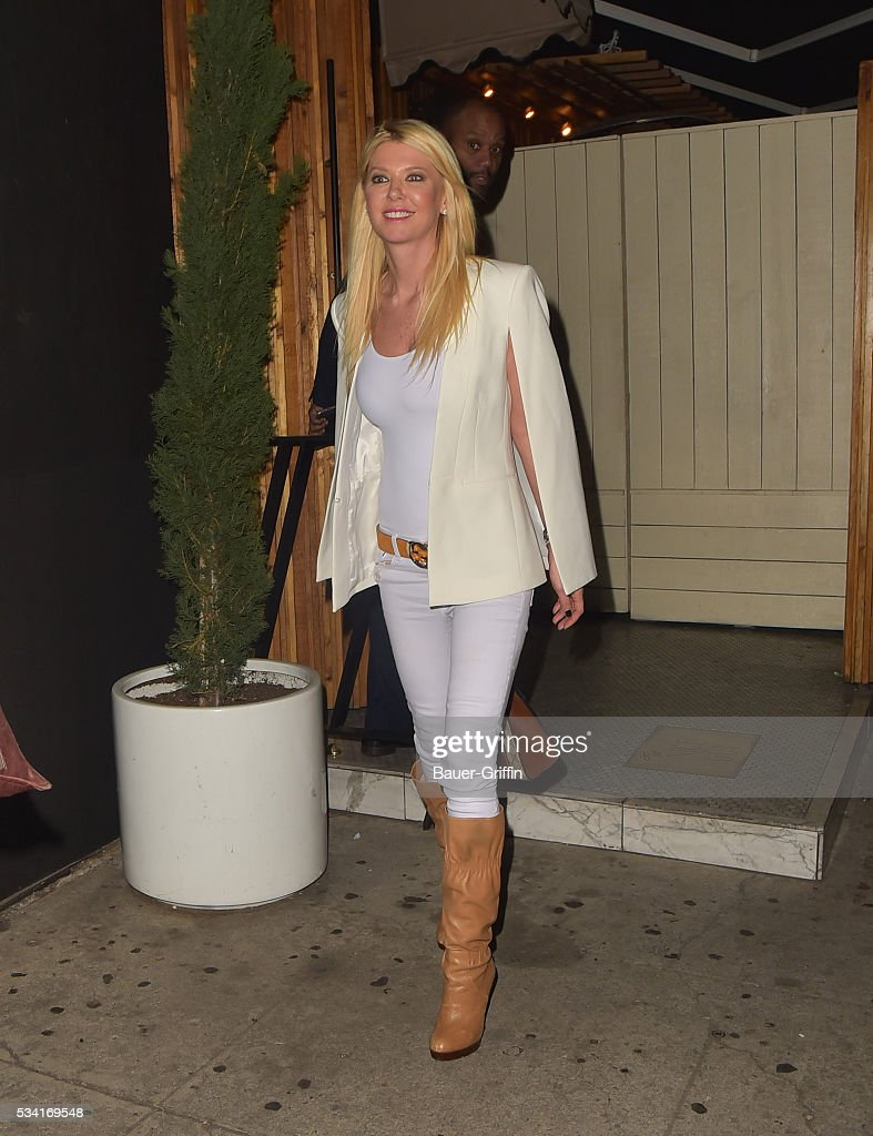 Tara Reid is seen on May 25, 2016 in Los Angeles, California.