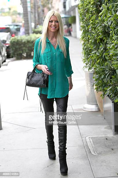 Tara Reid seen out in Beverly Hills on March 17 2015 in Los Angeles California