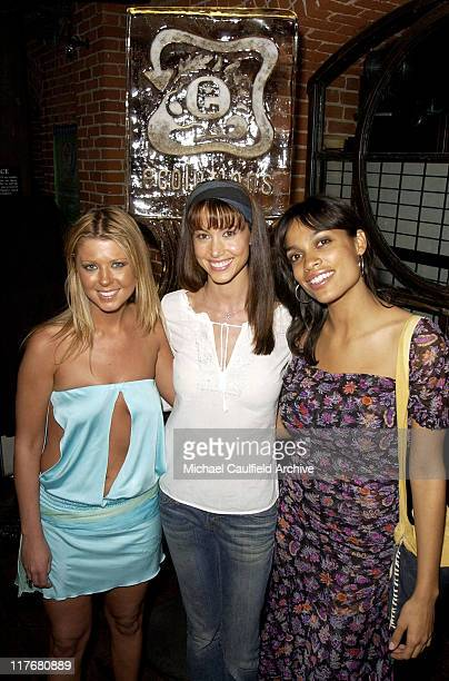 Tara Reid Shannon Elizabeth and Rosario Dawson host the Inaugural Ecobowl 2003 to celebrate Super Bowl XXXVII