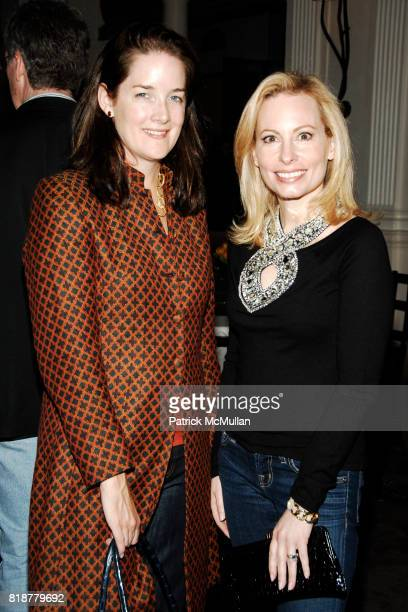 Tara Rockefeller and Gillian Miniter attend 'BURGUNDY BORDEAUX BLUE JEANS BLUES' A Casual Sunday Supper at DANIEL for the benefit of...