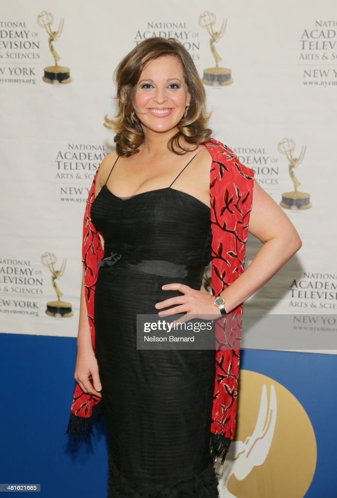 Tara Rosenblum arrives at the 57th Annual New York Emmy awards at Marriott Marquis Times Square on March 30, 2014 in New York City.