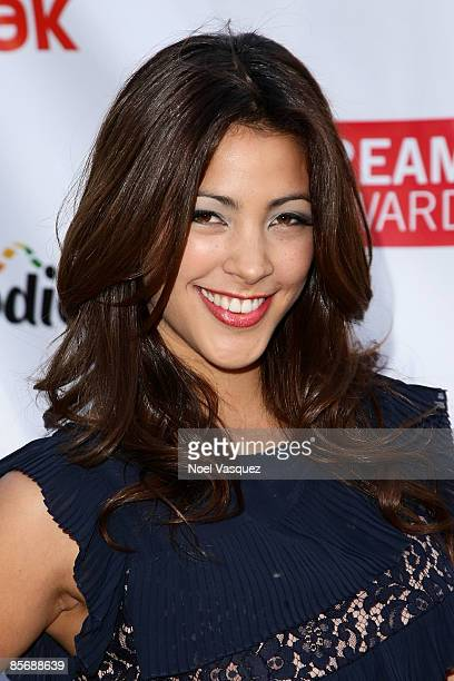 Tara Rushton attends the 1st Annual Streamy Awards at the Wadsworth Theatre on March 28 2009 in Los Angeles California