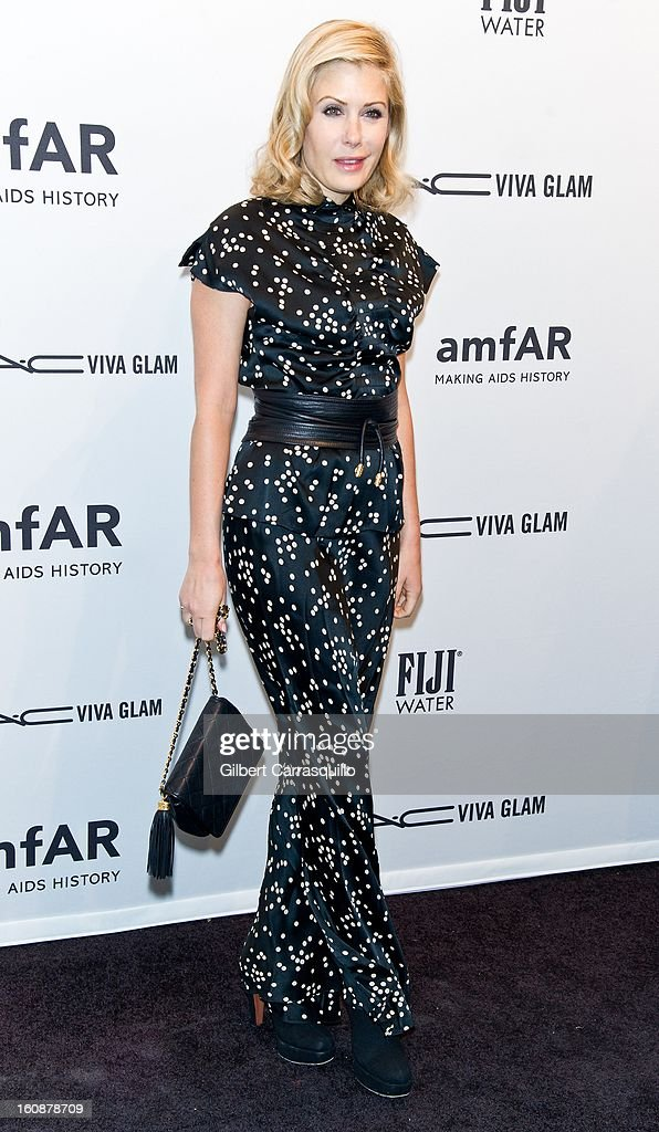 Tara Subkoff attends amfAR New York Gala To Kick Off Fall 2013 Fashion Week at Cipriani, Wall Street on February 6, 2013 in New York City.