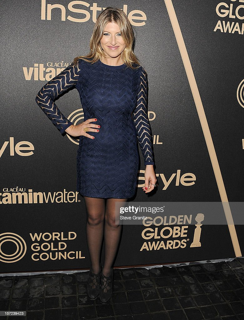 Tara Summers arrives at the The Hollywood Foreign Press Association And InStyle Miss Golden Globe 2013 Party on November 29, 2012 in Los Angeles, California.