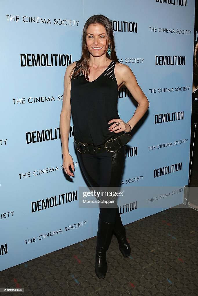 Tara Westwood attends Fox Searchlight Pictures with The Cinema Society Host A Screening of 'Demolition' at SVA Theatre on March 21, 2016 in New York City.