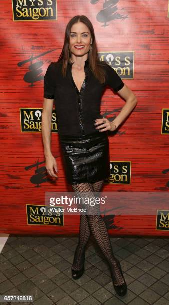Tara Westwood attends The Opening Night of the New Broadway Production of 'Miss Saigon' at the Broadway Theatre on March 23 2017 in New York City