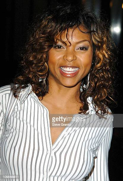 Taraji Henson during 'Lackawanna Blues' Los Angeles Premiere Arrivals at Director's Guild of America in Los Angeles California United States
