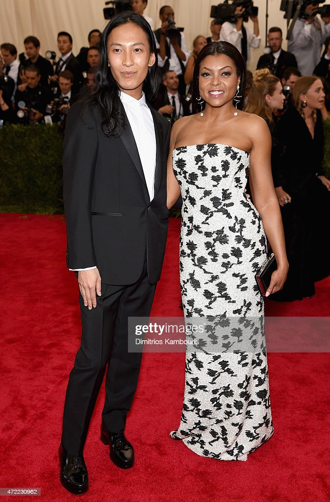 Taraji P Henson and Alexander Wang attend the 'China Through The Looking Glass' Costume Institute Benefit Gala at the Metropolitan Museum of Art on...