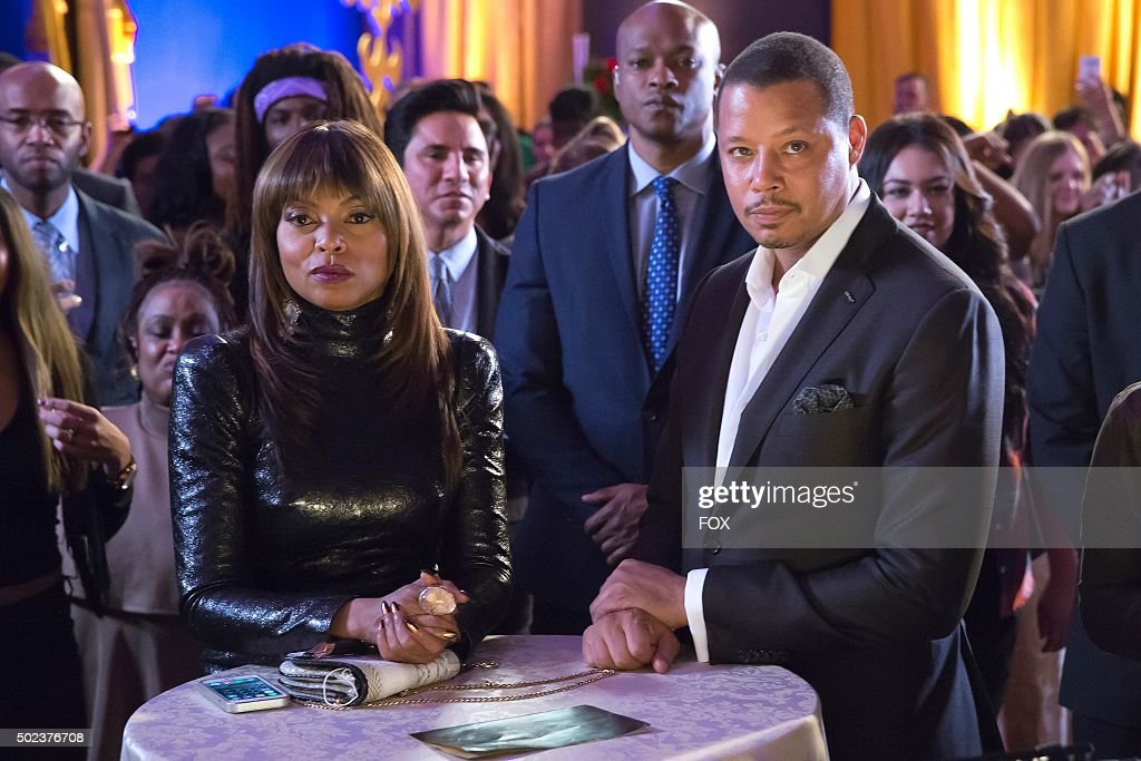 Taraji P Henson and Terrence Howard in the Et Tu Brute episode of EMPIRE airing Wednesday Dec 2 on FOX