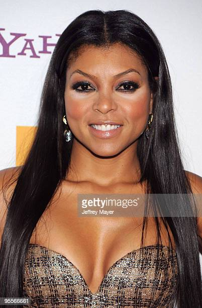 Taraji P Henson arrives at the 13th annual Hollywood Awards Gala Ceremony held at The Beverly Hilton Hotel on October 26 2009 in Beverly Hills...