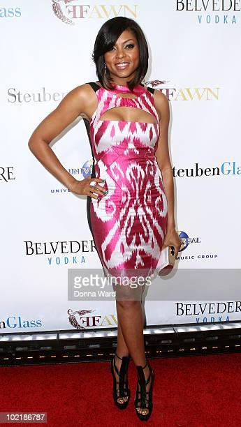 Taraji P Henson attends 'An Evening with Mary J Blige and Friends' at Cipriani Wall Street on June 17 2010 in New York City