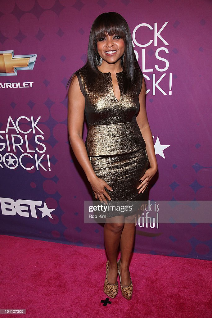 Taraji P. Henson attends Black Girls Rock! 2012 at the Paradise Theater on October 13, 2012 in the Bronx borough of New York City.