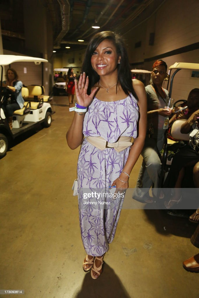 Taraji P. Henson attends the 2013 Essence Festival at the Mercedes-Benz Superdome on July 6, 2013 in New Orleans, Louisiana.
