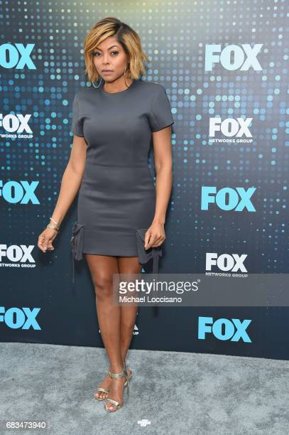 Taraji P Henson attends the 2017 FOX Upfront at Wollman Rink Central Park on May 15 2017 in New York City