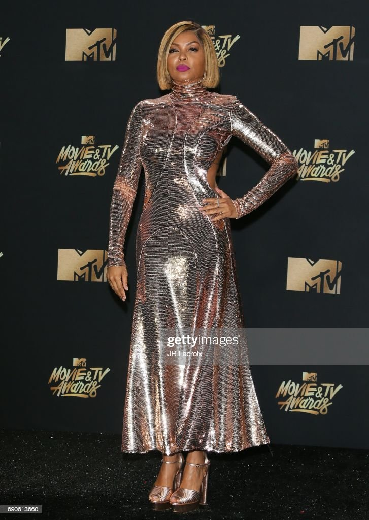 Taraji P. Henson attends the 2017 MTV Movie and TV Awards at The Shrine Auditorium on May 7, 2017 in Los Angeles, California.