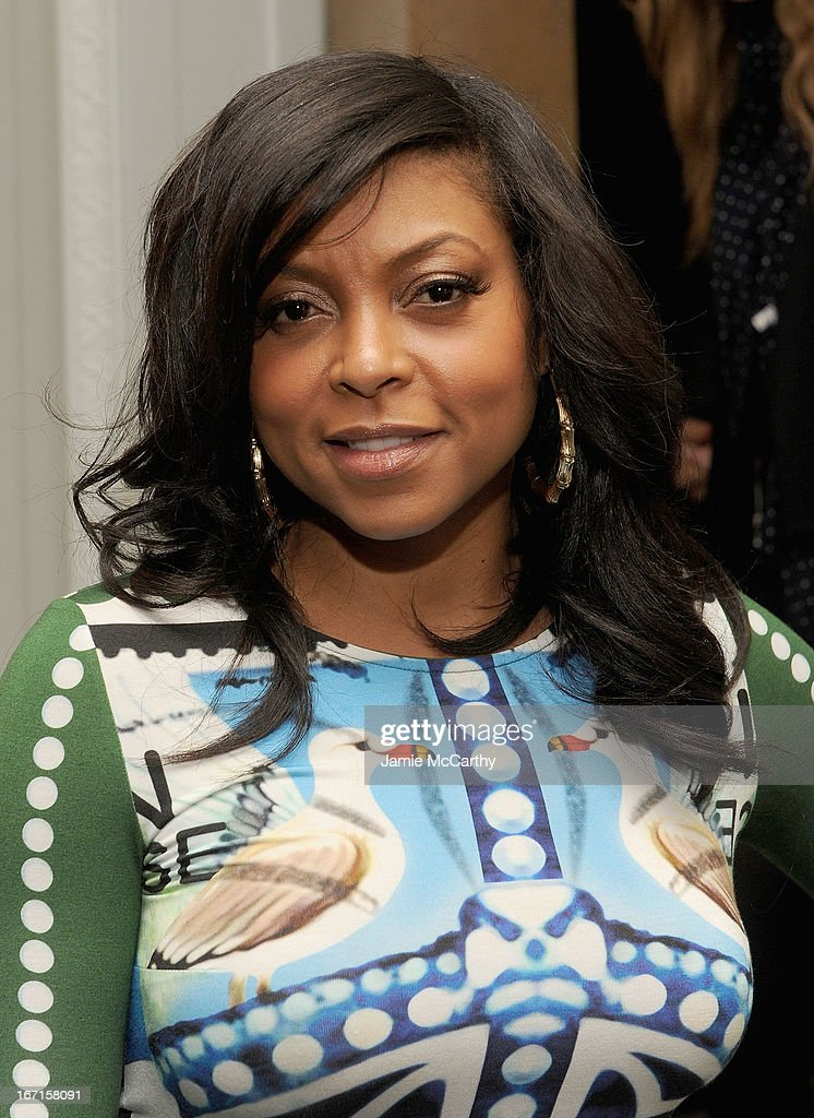 Taraji P. Henson attends the after party for The Cinema Society with FIJI Water & Levi's screening of 'Mud' at Harlow on April 21, 2013 in New York City.