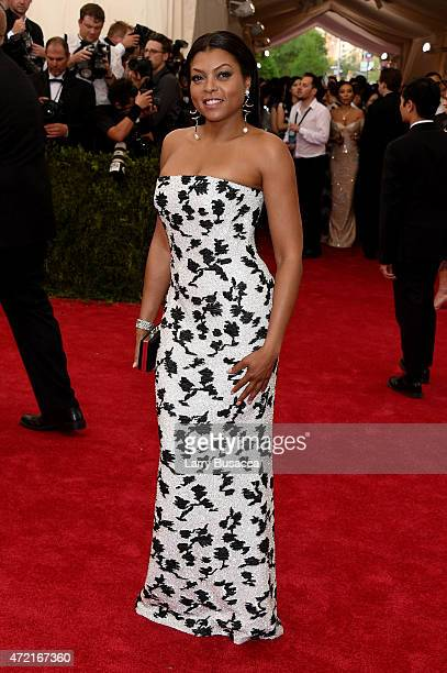 Taraji P Henson attends the 'China Through The Looking Glass' Costume Institute Benefit Gala at the Metropolitan Museum of Art on May 4 2015 in New...