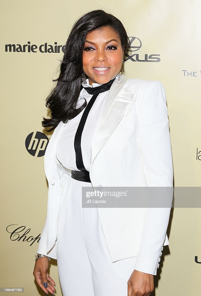 Taraji P. Henson attends The Weinstein Company's 2013 Golden Globes After Party at The Beverly Hilton Hotel on January 13, 2013 in Beverly Hills, California.