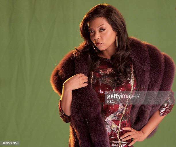 LIVE 'Taraji P Henson' Episode 1680 Pictured Taraji P Henson as Cookie during the 'Sesame Street Promo' skit on April 11 2015