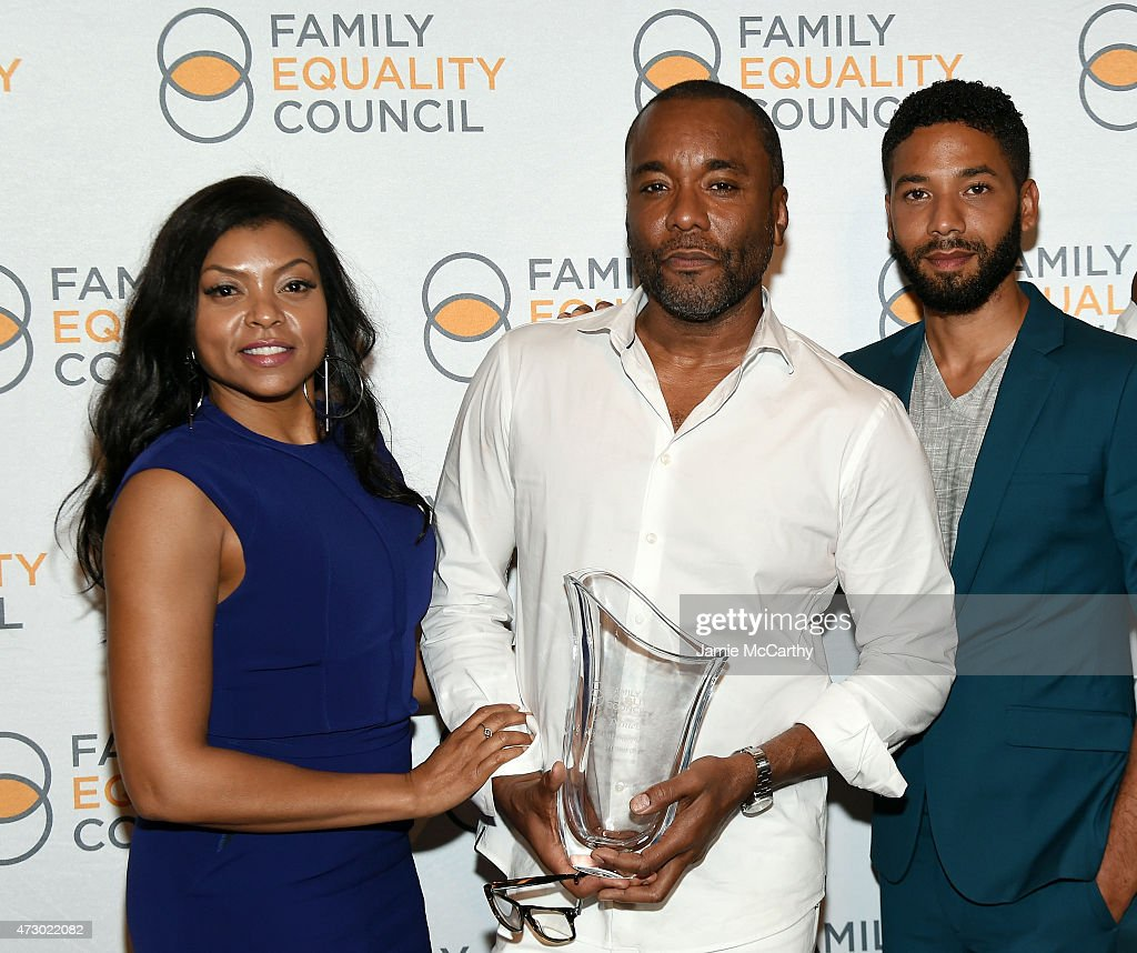 Taraji P Henson Lee Daniels and Jussie Smollett attend the Family Equality Council's 2015 Night At The Pier at Pier 60 on May 11 2015 in New York City
