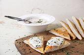 snack Taramasalata - is a Greek and Turkish meze