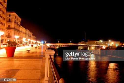 Taranto in night