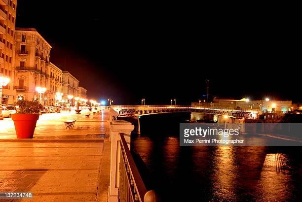 Taranto in night