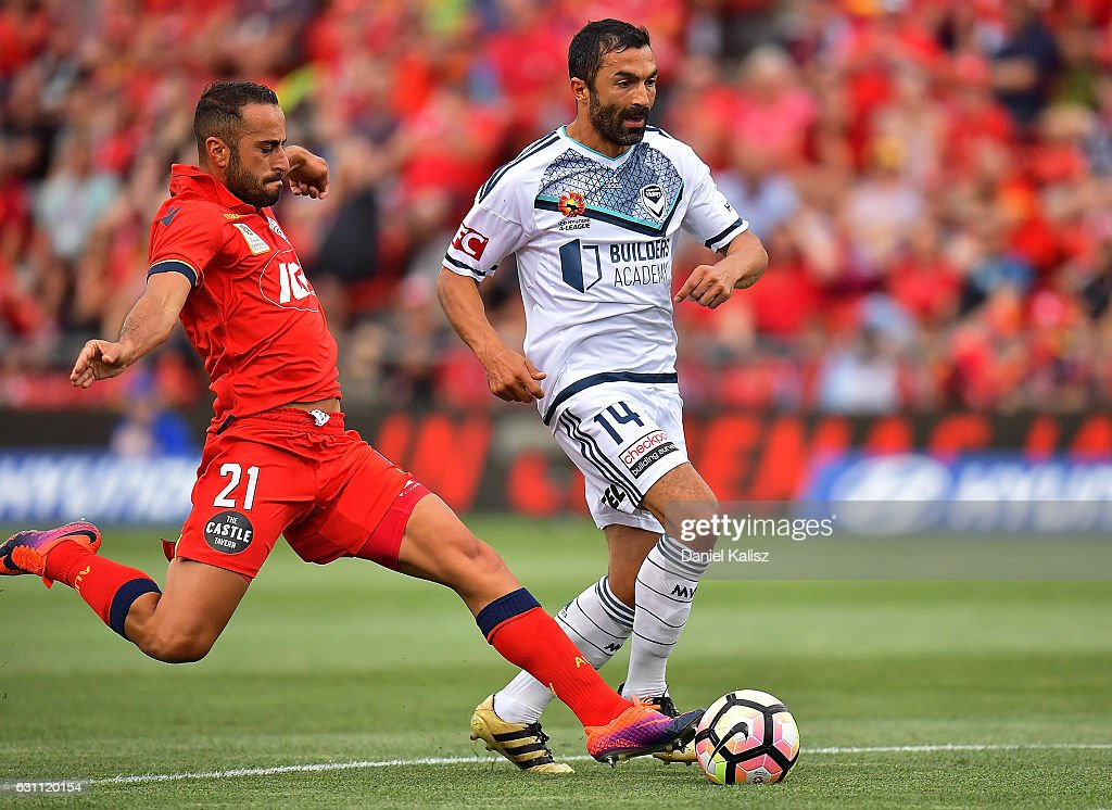 A-League Rd 14 - Adelaide v Melbourne
