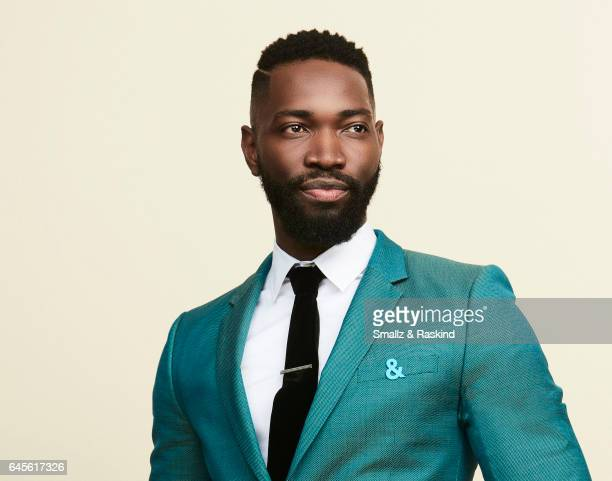 Tarell Alvin McCraney poses for a portrait session at the 2017 Film Independent Spirit Awards on February 25 2017 in Santa Monica Califor ania