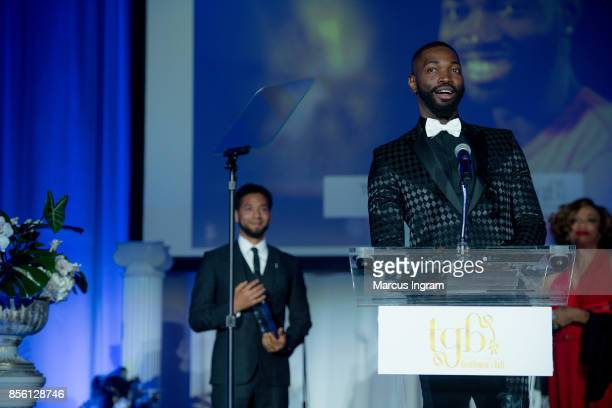 Tarell McCraney speaks onstage during The 6th Annual Gentlemen's Ball at Atlanta Marriott Marquis on September 30 2017 in Atlanta Georgia