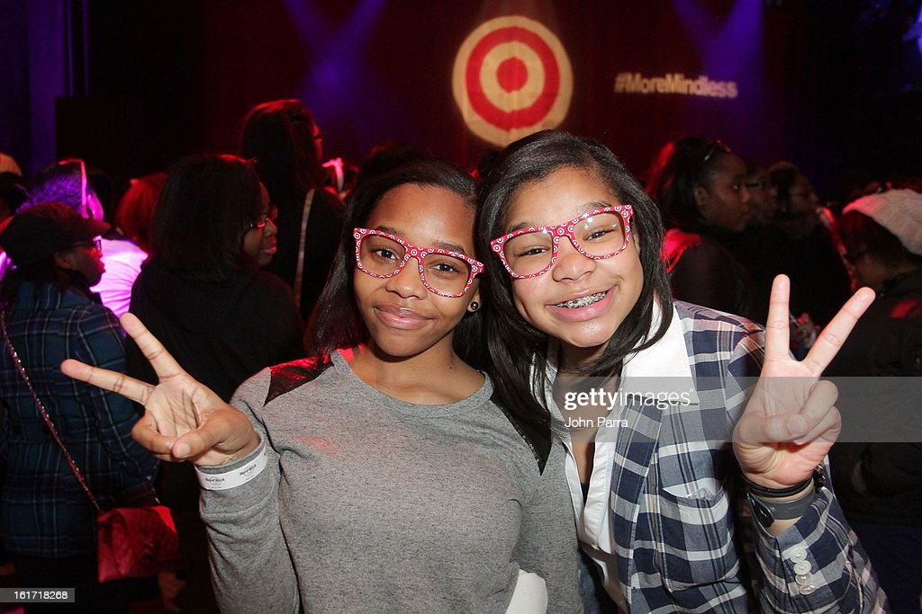 Target and Mindless Behavior celebrate Target exclusive deluxe edition of 'All Around The World' in New York, Tuesday Feb. 14.