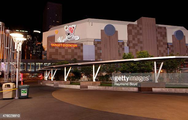 Target Center home of the Minnesota Timberwolves basketball team and Minnesota Lynx WNBA basketball team on May 21 2015 in Minneapolis Minnesota