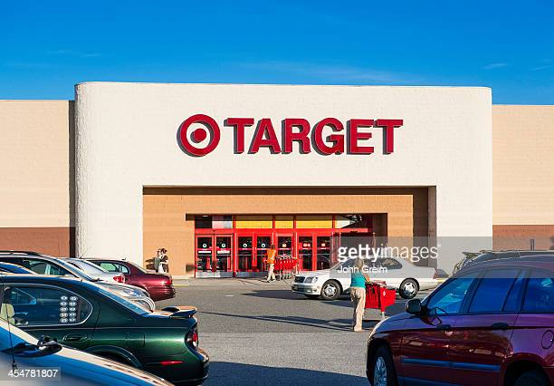 Target discount store exterior