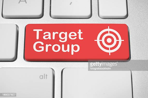 Target group button