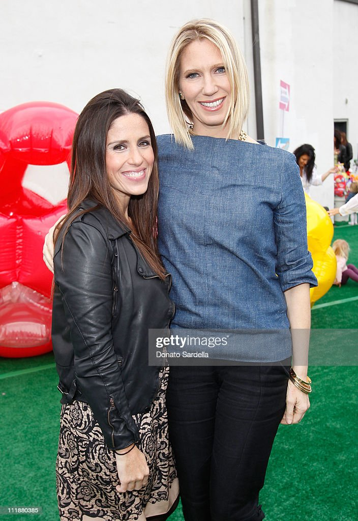 Target Mommy Ambassador Soleil Moon Frye and Lucky Editor and Chief Brandon Holley attend Lucky Magazine celebrates the launch of Lucky Kids Magazine...