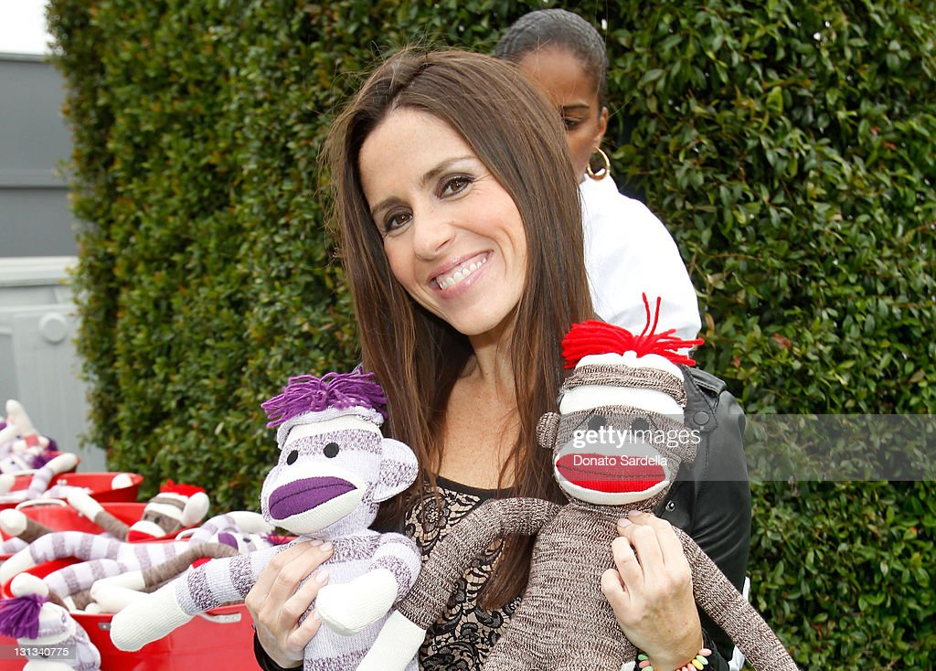 Target Mommy Ambassador Soleil Moon Frye attends Lucky Magazine celebrates the launch of Lucky Kids Magazine Presented By Target held at Siren...