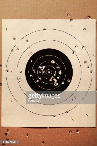 Target Practise : Stock Photo