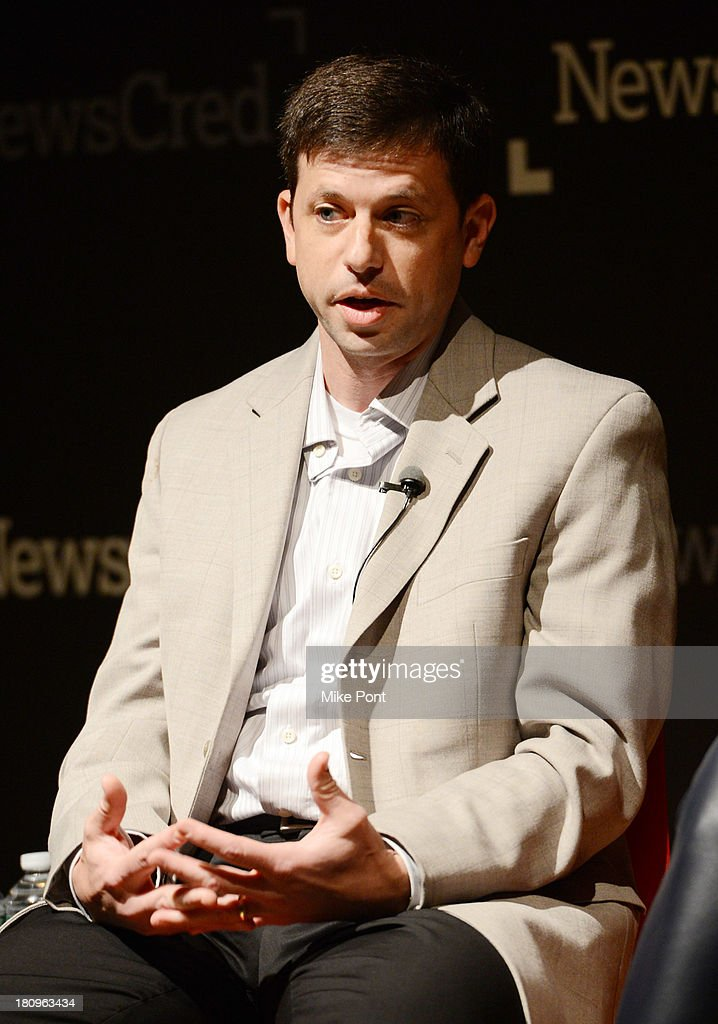 Target spokesperson Eric Hausman participates in a panel discussion at the NewsCred Content Marketing Summit 2013 at The New Museum on September 18, 2013 in New York City.