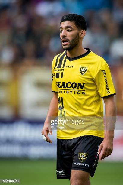 Tarik Tissoudali of VVV during the Dutch Eredivisie match between Vitesse Arnhem and VVV Venlo at Gelredome on September 17 2017 in Arnhem The...