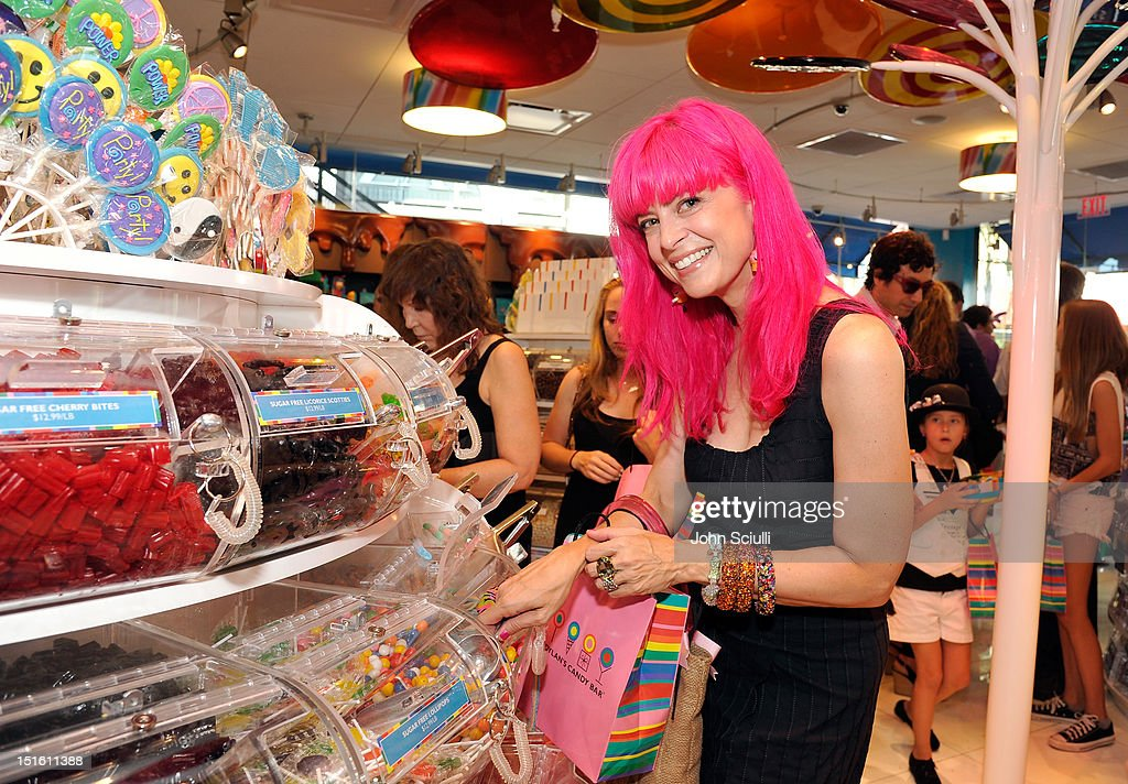 Tarina Tarantino attends the Dylan's Candy Bar Los Angeles Opening at Original Farmers Market on September 8, 2012 in Los Angeles, California.