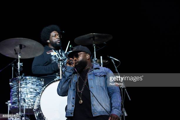 Tariq quotBlack Thoughtquot Trotter performed with The Roots at the MGM National Harbor in Oxon Hill MD on Sunday August 13 2017