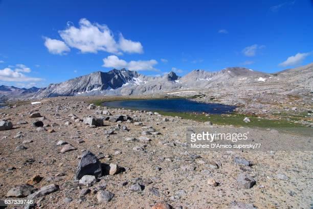 A tarn in the high altitude desert