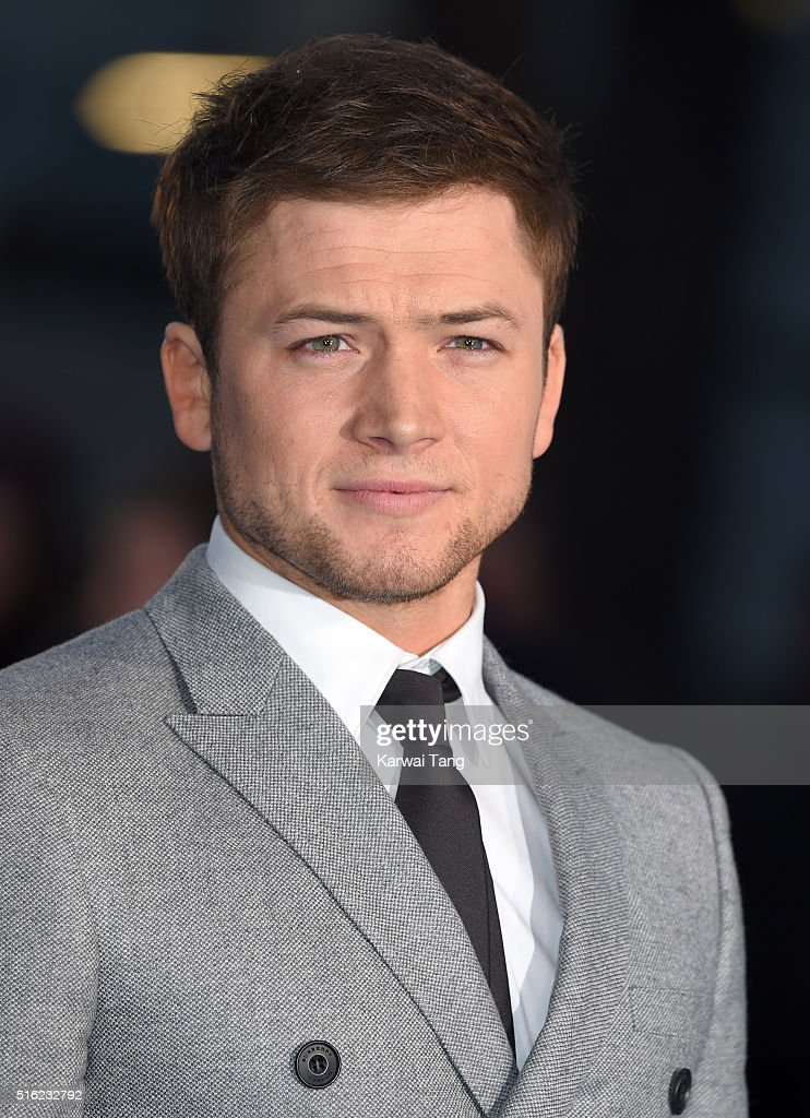 Taron Egerton arrives for the European premiere of 'Eddie The Eagle' at Odeon Leicester Square on March 17, 2016 in London, England.