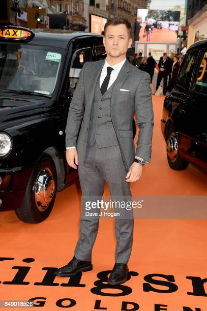 Taron Egerton attends the 'Kingsman The Golden Circle' World Premiere held at Odeon Leicester Square on September 18 2017 in London England