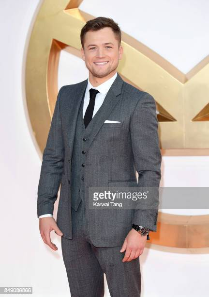 Taron Egerton attends the 'Kingsman The Golden Circle' World Premiere at Odeon Leicester Square on September 18 2017 in London England