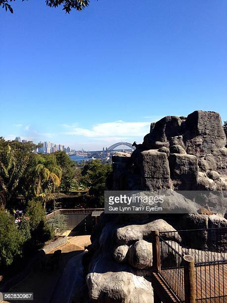Taronga Zoo Against Blue Sky In City